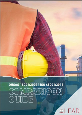This comparison guide illustrate in a simple way the differences between ISO 45001 and OHSAS 18001