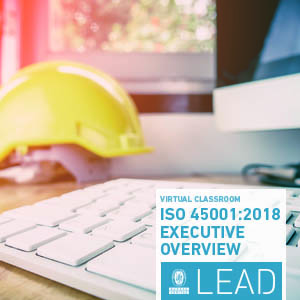 new Virtual Classroom on ISO 45001:2018