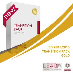 Transition Pack Gold ISO 9001:2015