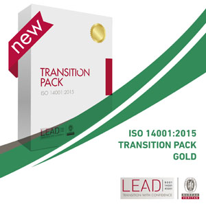 Transition Pack Gold ISO 14001:2015