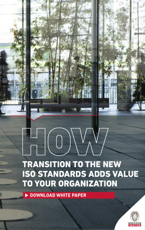 The white paper for the transition ISO