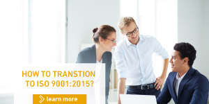 How to transition to ISO 9001:2015
