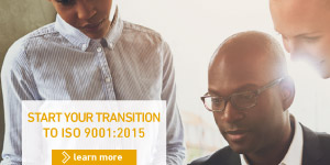 Start the Transition with ISO 9001:2015