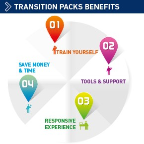 Transition pack benefits