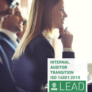 Discover the e-learning Internal Auditor Transition ISO 14001:2015