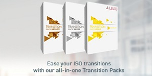 Ease your ISO Transition with our in one Transition Packs for all our LEAD products
